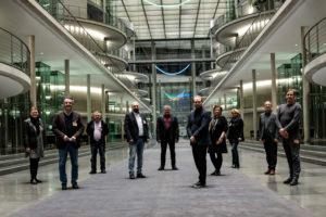 Gruppenfoto Schaeffler-Betriebsräte & SPD-Bundestagsabgeordnete